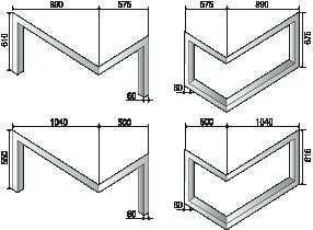 Esquema de AXIS Diseño chimeneas MARCO DISEÑO (rincón)