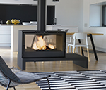 Design fireplaces AXIS STOVE 1000