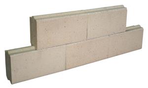 White bricks design axis fireplaces
